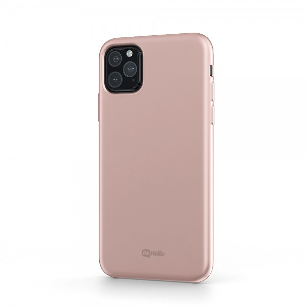 BeHello Premium iPhone 11 Pro Liquid Silicone Case Pink