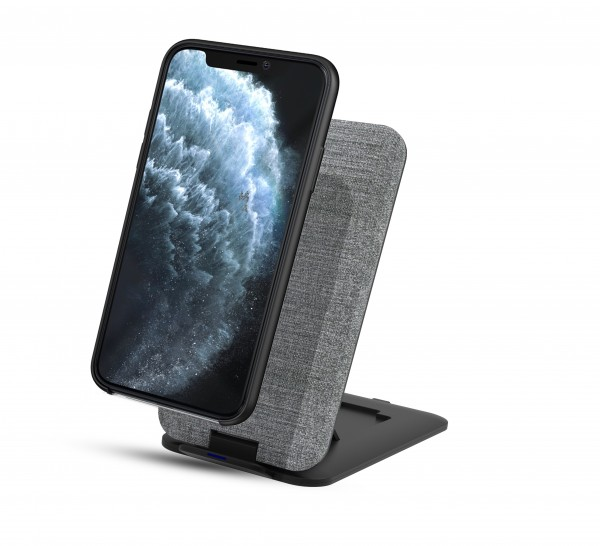 BeHello Wireless Charger Fast 10W With Stand Grey